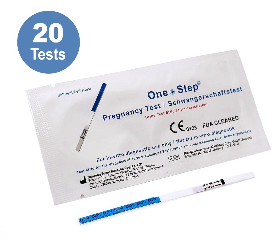 20 x ultraempfindlicher Schwangerschaftstest - Frühtests_ Amazon.de_ Drogerie & Körperpflege