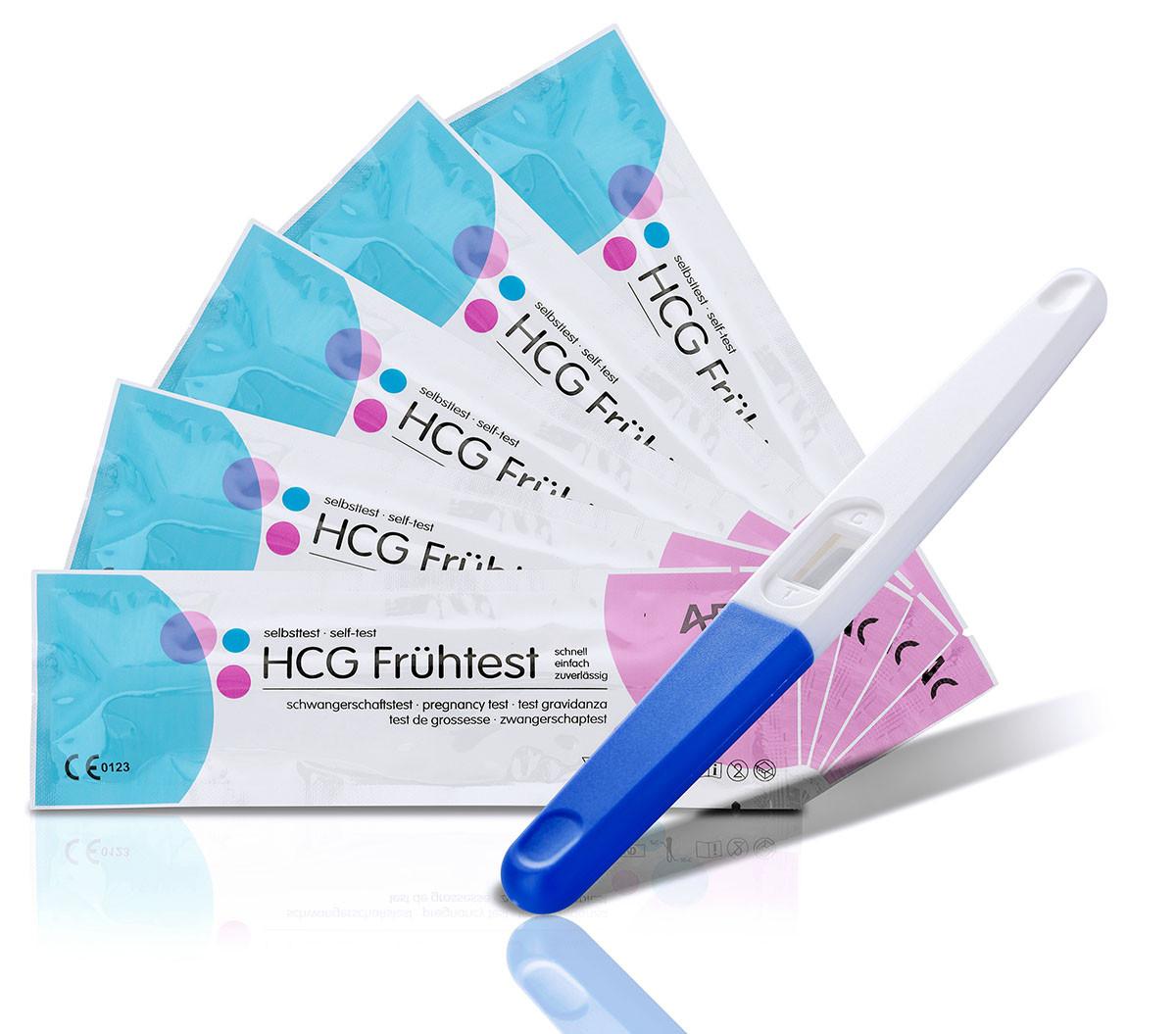 10 AFAC Schwangerschaftstests (Mittelstrahltest) 10miu/ml