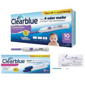 Clearblue Kinderwunsch Ovulationstest Fortschrittlich & Digital - Fruchtbarkeitstest für Eisprung, 10 Tests_ Amazon.de_ Drogerie und Körperpflege