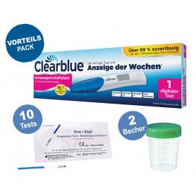 Clearblue digitaler Schwangerschaftstest mit Wochenbestimmung mit Anzeige der Wochen