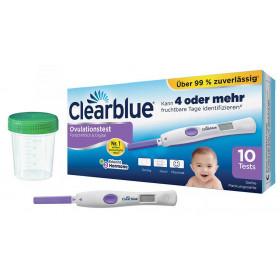 Clearblue Ovulationstest Advanced 10 Stück + 5 Frühtests + 2 Urinprobebecher