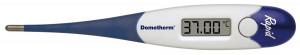 Domotherm Rapid - digitales Fieberthermometer mit 2 Nachkommastellen, Messwertspeicher, flexible Spitze, Baby Kinder geeignet