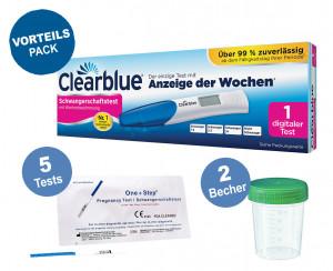 Clearblue Schwangerschaftsfrühtest mit Wochenbestimmung und eindeutigen digitalen Ergebnissen, 1 digitaler Test_ Amazon.de_ Drogerie & Körperpflege