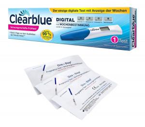 Clearblue digitaler Schwangerschaftstest mit Wochenbestimmung 1 Stück