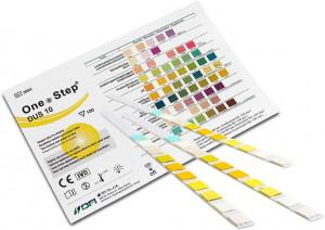 Gesundheitstest, Urinteststreifen für 10 Parameter, 15 Stück, wiederverschließbar