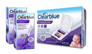 Clearblue Advanced Fertilitätsmonitor + 2 x CL 20+4