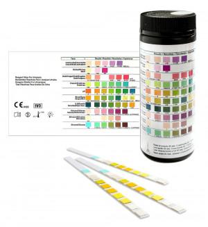 Urinteststreifen_100 Urinanalysestreifen_Gesundheitstest 10 Indikatoren